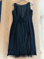 Moschino little black dress size USA10 runs small $500