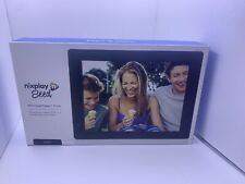 Nixplay Seed 8 Inch WiFi Digital Photo Frame - Black Open Box Tested Working
