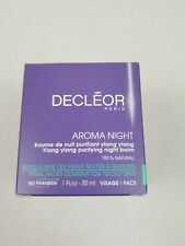 Decleor Aroma Night Ylang Ylang Purifying Night Balm, 1 Fl.oz - 30ml, New
