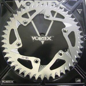 Vortex Motorcycle Rear Sprocket Silver 511-47 Suzuki RM125 RM250 DR250 DR350 DRZ