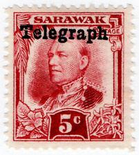 (I.B) Sarawak Telegraphs : Overprint 5c