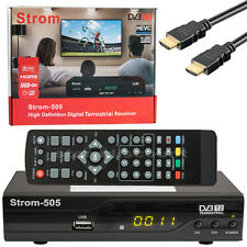 DVB-T2 Receiver Storm 505 H.265 Full HD 1080p HEVC USB Mediaplayer Terr Digital