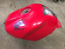 Honda VFR800 VFR 800 Interceptor 02-08 red fuel gas tank cell CLEAN