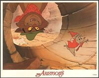 Aristocats Walt Disney 1970 lobby card