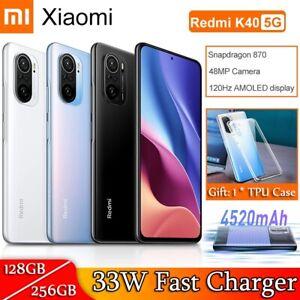 """Xiaomi Redmi K40 5G Smartphone 128GB / 256GB Snapdragon 870 Octa Core 6.67"""" 48MP"""