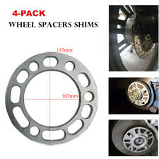4Pcs 6MM Aluminum Alloy Car Wheel Spacer Gaskek Shims Kit 5/6 Stud Brake Caliper