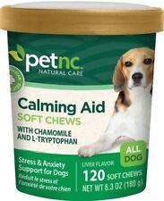 PetNC Calming Aid Soft Chews Liver Flavor 120ct 740985275993J601, Pack of 1