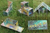 Despicable Me Minions Rubik's Magic Rubik's Cube 8 Tile Panel Folding Puzzle Toy