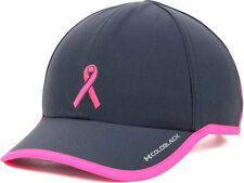 UNDER ARMOUR Women's BCA Workout Cap Hat $28 Gray & Pink Breast Cancer Awareness