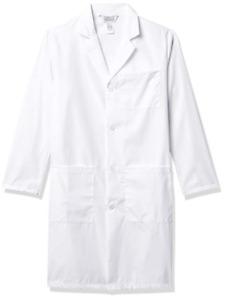 Fashion Seal Healthcare Unisex White Lab Coat Size L - 100% cotton