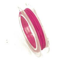 1 X 10 metros Rollo De Cola De Tigre 0.38 mm Alambre de abalorios joyería color de rosa caliente