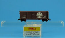 501 00 200 AT&SF 50256 ~ 40' BOX CAR ~ MTL MICRO TRAINS Z SCALE