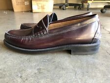 NOS Johnston & Murphy Aristocraft Penny Loafer sz 11.5 C Brown