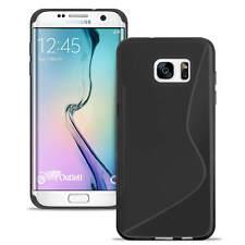 Handy Hülle für Samsung Galaxy Schutzhülle Silikon Case Slim TPU Cover S-Line