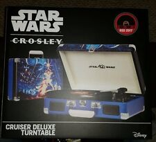 Crosley Star Wars Turntable RSD Record Store Day 2017 Limited Edition Brand New