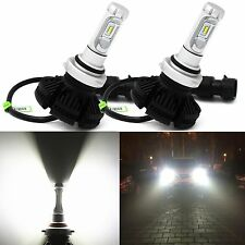 Alla Lighting 6000lm ZES DIY 3 Color 9012 LED Headlight Conversion Kit Bulb Lamp
