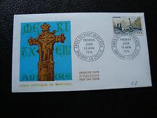 ANDORRE (francais) - enveloppe 1er jour 13/6/1970 (cy67) andorra (A)