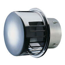 """NEW! SEIHO STAINLESS STEEL DRYER VENT 4"""" with BD DAMPER-RCC4S"""
