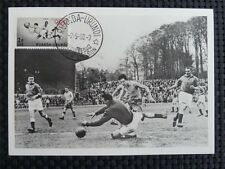 RUANDA MK 1960 OLYMPICS SOCCER FOOTBALL MAXIMUMKARTE MAXIMUM CARD MC CM R!! c656