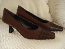 Brand New Ladies/Womens Paco Herrero Leather Court/heeled Size 41 / 7 cost £110