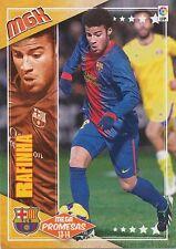 N°409 RAFINHA # PROMESAS BRAZIL FC.BARCELONA CARD PANINI MGK LIGA 2014