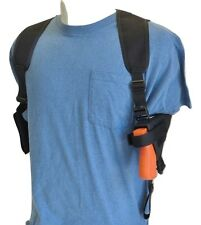 """Shoulder Holster for Springfield XDs Compact 3.3"""" 9mm & 45 Pistol Dbl Mag Pouch"""