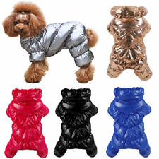 Winter Warm Pet Dog Clothes Waterproof Windproof Jumpsuit Puppy Cat Coat Apparel