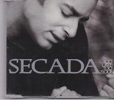 Jon Secada-Too Late Too Soon cd maxi single