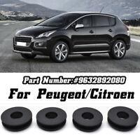 4pcs Floor Mat Fixing Clips Carpet Clamps For Peugeot Citroen Holders Grips