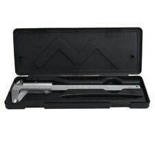 """Steel Vernier Caliper with self lock 6"""" 0-150mm Metal Calipers Gauge Microm"""