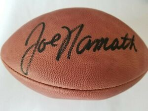 Joe Namath Autograph Football with COA from Steiner