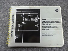 1988 BMW 325 325i 325is Electrical Wiring Troubleshooting Service Repair Manual