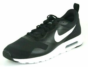 Nike Air Max Tavas Mens Shoes SZ 14 Running Black White Mesh Athletic 705149 100