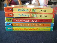 Dr Seuss Books For Beginners Readers Bright and Early Books Series Lot of FIVE