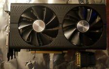 Sapphire Radeon AMD RX 470 4GB GDDR5 PCI-E DVI-D Gaming GPU w/ HDMI Adapter