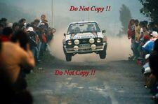 El Señor Vatanen nos & David Richards Ford Escort RS1800 San Remo Rally 1981 fotografía 1