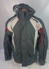 686 Snowboard Ski Unisex Size Medium Nylon Jacket With Snow Guard Hood
