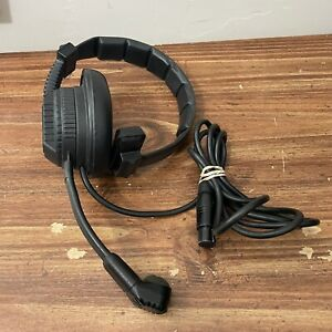 Clear-Com Single-Ear Headset with 4-Pin XLR-F Connector