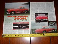 1956 MERCEDES BENZ 300SL - ORIGINAL 2001 ARTICLE