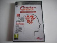 JEU PC DVD ROM NEUF-L'ENTRAINEUR CEREBRAL/LA GYM DES NEURONES TONIFIEZ VOTRE CER