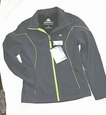 Snozu Jacket size S/3,4 retail $90 Gray and Lime