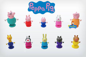 PEPPA PIG Cake Toppers / 10 Figures