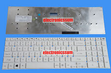 FOR Gateway NV55S NV55S05u NV56R NV56R31U NV57H NV57H10h NV75S US Keyboard White