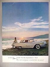 Thunderbird PRINT AD - 1959 ~~ Ford