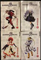 Elemental Gelade Manga 1, 2, 3, 4 Fantasy Action English Tokyopop OOP