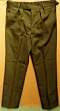 GENUINE BRITISH ARMY ISSUE BARRACK DRESS TROUSERS MANS -PRE FADS - 85/96/120