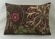 "William Morris Seaweed Aubergine/Bayleaf 16"" x1 2"" Stunning Cushion Cover"