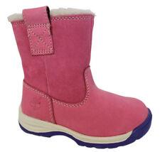 Chaussures roses à enfiler en cuir pour fille de 2 à 16 ans