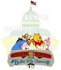 Disney World Winnie the Pooh Crystal Palace Restaurant Scrapbook Paper Die Piece
