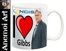 I Love Heart Jethro Gibbs NCIS Mug Cup Secret Santa Gift Mark Harmon Merchandise